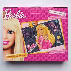 Servieta cu puzzle Barbie Puzzles, Lunch Box, Barbie, Disney, Character, Puzzle, Bento Box, Barbie Dolls, Disney Art