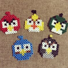Angry Birds perler beads by perler0_0