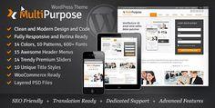 MultiPurpose Templates - Responsive WordPress Themes  free download