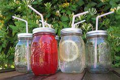 Ball Mason Jar Tumblers by SwiftRiverCreations on Etsy, $9.00