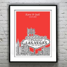 Hey, I found this really awesome Etsy listing at https://www.etsy.com/listing/164675103/las-vegas-wedding-guest-book-guestbook