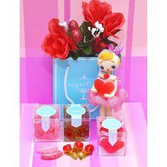 Getting my gummy on this Valentine's Day! Thank you, Sugarfina!!  #kitschandkawaii #vintagedolls #kawaii #kawaiidoll #posedoll #posedolls #bradleydoll #japanesedoll #vintagejapan #kitsch #kitschy #dolls #vintage #japandoll #valentine #valentinesday #valentinesday2016 #sugarfina  #gummy #gummycandy #candy #foodie @sugarfina #dollphotography
