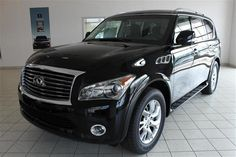 2014 Infiniti QX80 Base 4x4 4dr SUV SUV 4 Doors Black for sale in Cleveland, OH Source: http://www.usedcarsgroup.com/used-infiniti-for-sale-in-cleveland-oh