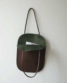 Yumuşak deri çanta modelleri...
