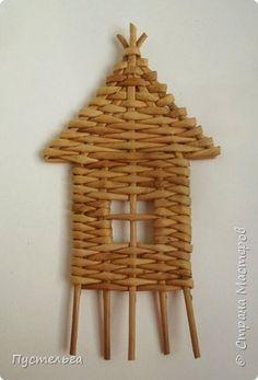 Домик для детских МК (ёлочное украшение) фото 14