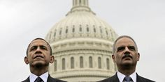 After years beset by scandal and criticism, Attorney General Eric Holder (right) is working to reform the criminal justice system -- a project that could become his major accomplishment at the Justice Department. (AP Photo/Pablo Martinez Monsivais, F...