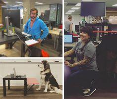 Stand up desks Ikea hack