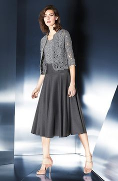 Escada Cardigan with Optional Top and Skirt.   Vivaldi Boutique NYC has the Escada Fall 2014 Fashion Collection. Visit Vivaldi-NY.com to purchase this beautiful item online or call us at (212) 734-2805. #escada #fashion #women #style