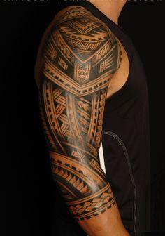 faux tatouage maori