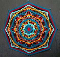 Handmade Yarn Indian Mandala - Ojos de Dios  https://www.facebook.com/aurashop8  https://www.etsy.com/shop/AuraShop8