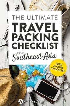 Southeast Asia Packing List | Check out our complete packing list with a FREE digital checklist download which has everything you need to bring on that epic trip you've been planning!