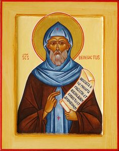 Icons of St. Benedict the Great of Nursia, Pater Monachorum et Dux
