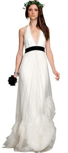 New York Wedding Guide - Bohemian Gowns -- Vera Wang