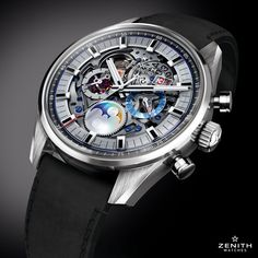 Zenith Watches @ZenithWatches The Chronomaster El Primero Grande Date flaunts its palpitating pace for all to see with an open-hearted and high-frequency mechanism