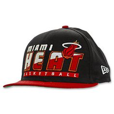Miami Heat Slice Snapback Hat