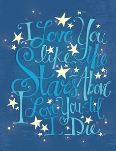 The Stars Above by Lindsey Anne Roper, via Behance