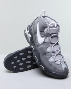 Nike - Air Max Uptempo Sneakers..got thesse the cool grey was a dope concept