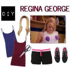 Easy diy halloween costume ideas regina george from mean girls using