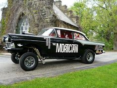 """57 Ford gasser """"The Mortician"""""""