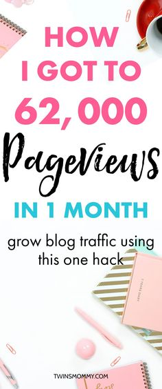 Looking to grow your blog traffic quickly? This one proven hack has worked twice for me and I know it can work for you! Grow your blog traffic to help you grow your pageviews, email list and income! Blogging tips   blog ideas   grow your blog   blogging ideas