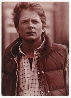 Postcards - Celebrities # 356 - Michael J. Fox