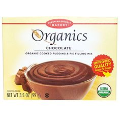 European Gourmet Bakery Organics Cooked Pudding  Pie Filling Mix Chocolate 35 oz 99 gPACK 1 >>> Check out this great product.(This is an Amazon affiliate link)