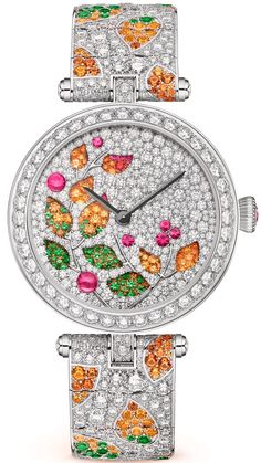 Discover Van Cleef & Arpels' universe and its High Jewelry, Jewelry, Bridal and Watches creations. Trendy Watches, Best Watches For Men, Amazing Watches, Cool Watches, Ladies Watches, Van Cleef And Arpels Jewelry, Van Cleef Arpels, High Jewelry, Jewellery