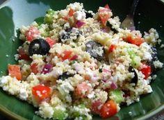 Jonesin' For Taste: Greek Coucous Salad