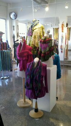 Textile & scarf display