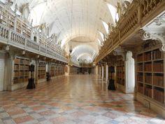 Mafra National Palace Library, Mafra - Portugal