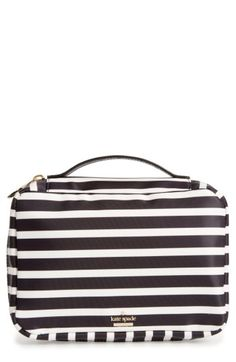 kate spade new york kate spade new york classic baylor nylon cosmetics case available at #Nordstrom