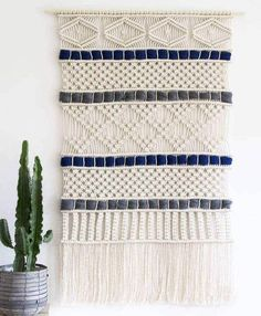 Macrame Curtain, Macrame Cord, Large Curtains, How To Make Rope, Wedding Wall, Crochet Decoration, Weaving Textiles, Tear, Woven Wall Hanging