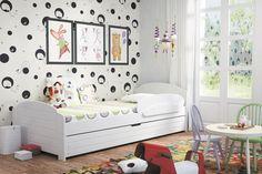 Kinderbett Alina mit Bettkasten in 2 unterschiedlichen Farben Diese Kinderbetten unterscheiden sich von anderen in Kreativität, Schönheit und durch den Einsatz natürlicher... #kinder #kinderzimmer #kinderbett
