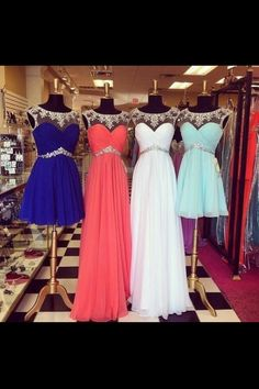 gorgeous dresses.