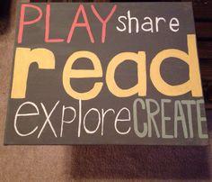 Play share read explore create Canvas for Teachers