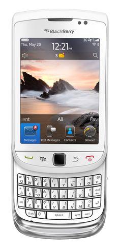 BlackBerry Torch 9800 - friends since 2011