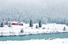Bernina Express Railway SWISS LARK: Happy 725th Birthday, Switzerland!