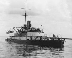 Throughout her commission Cerberus was confined to the waters of Port Phillip Bay. Royal Australian Navy, Navy Man, Naval History, Cerberus, Model Ships, Royal Navy, Historical Society, Battleship, Heritage Site