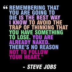 life, heart, quotes, truth, wisdom, thought, inspir, steve jobs, live