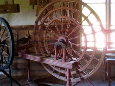 The spinning wheel of my dreams