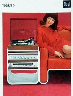 Vintage Electronic Turntable Dual HiFi Audio Audiophile Vinyl (fb)