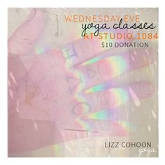 Yoga Classes in North Naples, Florida at Studio 1084 $10 donation Wednesday eve 5:30-6:45pm Gentle Flow, 7-8pm Kundalini Yoga.... Healing Arts space... Studio 1084 located at 1084 Business Lane, Naples FL www.lizzcohoon.com/yoga