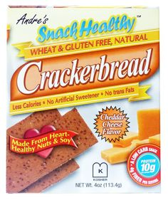 Andre's Carbo-save Low Carb Crackerbread, Original Flavor, 4 Oz. Box
