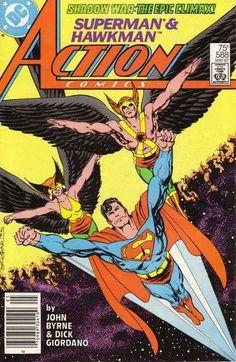 Action Comics Vol 1 588 Comic Books For Sale, Dc Comic Books, Comic Book Artists, Comic Book Covers, Comic Artist, Old Superman, Superman Comic, Batman, Superman Stuff