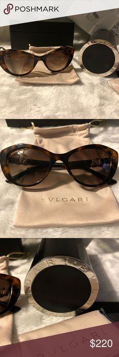 bdf1886d03d NEW Bvlgari Cat Eye Sunglasses. Gorgeous NEW in retail packaging. Bvlgari  Sunglasses. Comes