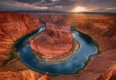Turning Time - Horseshoe Bend, @ Glen Canyon, Arizona photography by Peter Lik Peter Lik Photography, Dk Photography, Artistic Photography, The Places Youll Go, Places To See, Turn Time, Glen Canyon, Canyon Lake, Go Camping