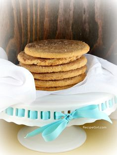 Cinnamon- Vanilla Monster Cookies #recipe - RecipeGirl.com