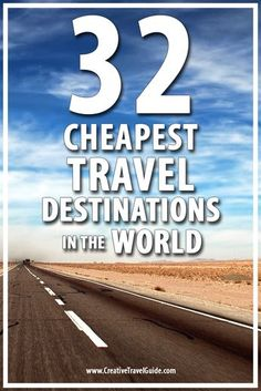 Not having enough money to travel is always our excuse. Well, that is about to change! Here are the 32 cheapest travel destinations in the world!