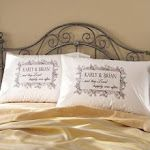 """2nd anniversary cotton gifts """"always kiss me goodnight"""" Lots more at http://www.anniversary-gifts-by-year.com/cotton-anniversary-gifts.html"""