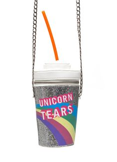 This crazy-cool bag:   23 Gifts Every Unicorn Lover Needs In Their Life